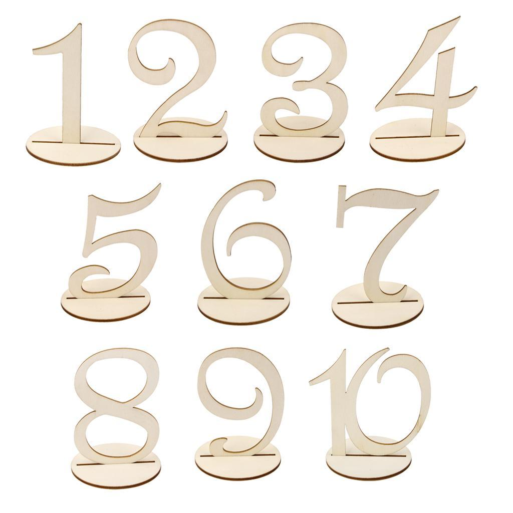 1-30-Wooden-Round-Table-Number-Standing-Wedding-Party-Table-Decoration thumbnail 3