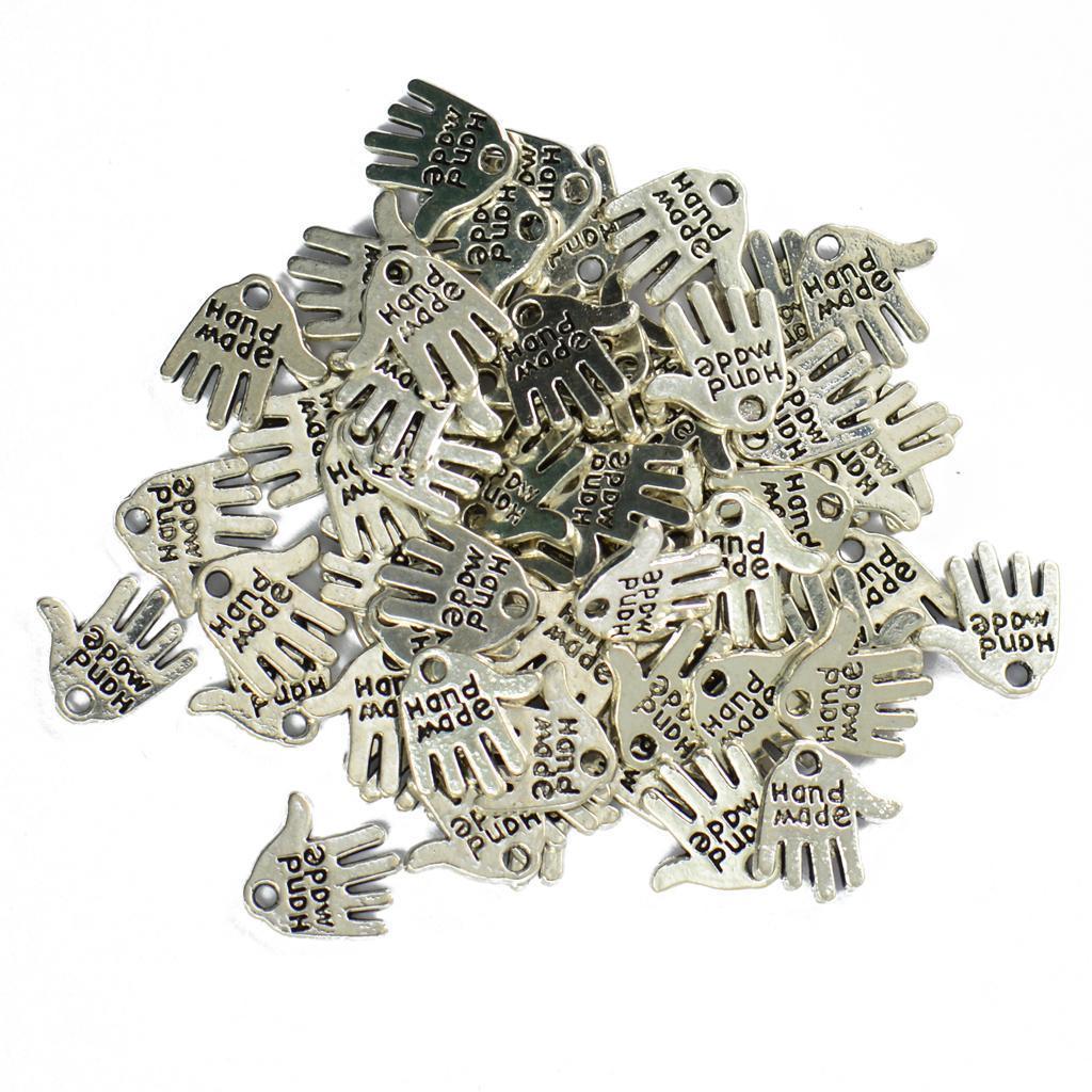 Pendentifs-Breloques-Charms-pour-Bijoux-Collier-Bracelet-DIY-Artisanat miniature 30