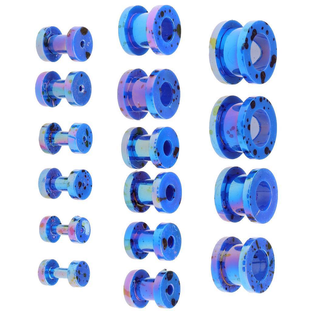 16-Pezzi-Tappi-Auricolari-Posteriori-Vite-8-Formati-Assortiti-Accessori miniatura 25