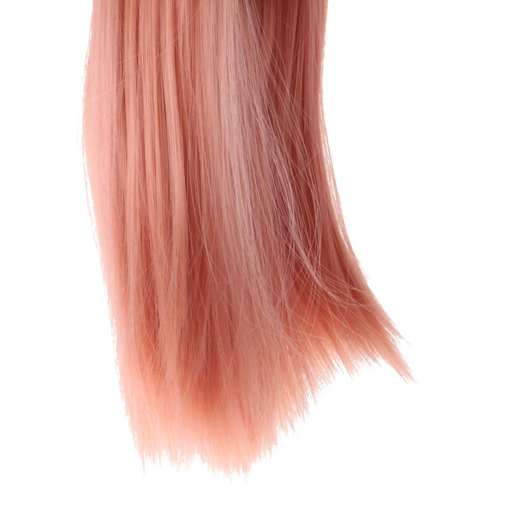 Straight-Wavy-Curly-Hair-Wig-for-18-039-039-Dolls-Clothes-Accessories thumbnail 55