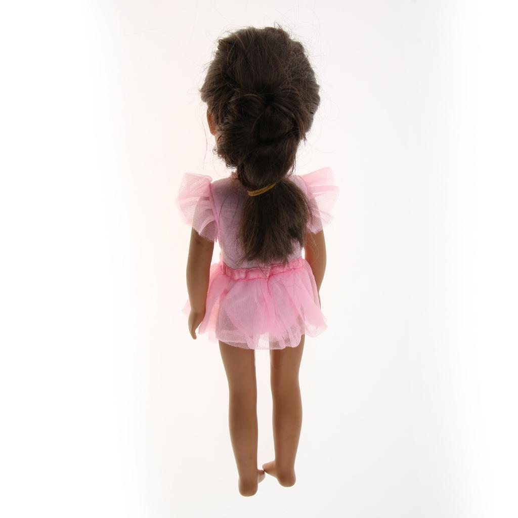 For-14-inch-Wellie-Wishers-American-Doll-Dolls-Clothing-T-shirt-Miniskirt-Romper thumbnail 16