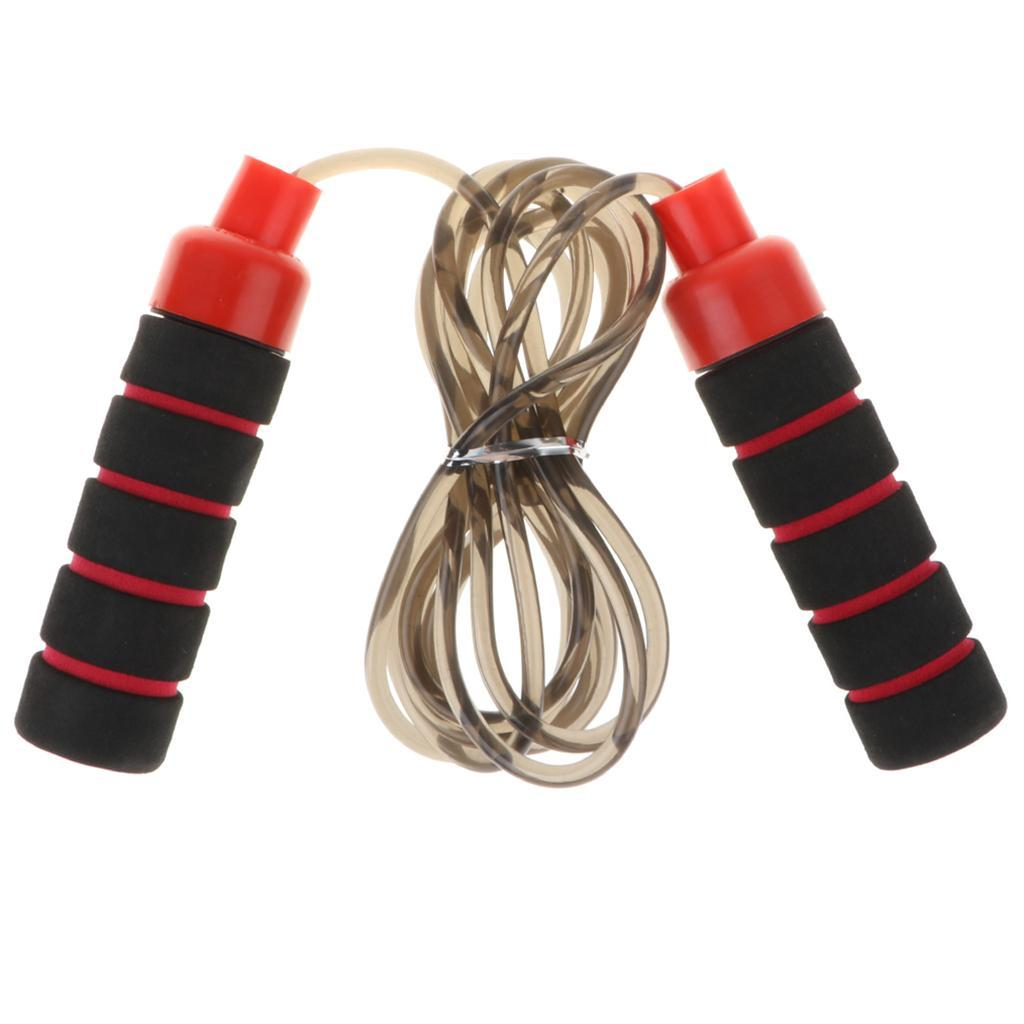 Aerobic-Exercise-PVC-Skipping-Jump-Rope-Boxing-Fitness-Sport-Gym-w-Foam-Handle thumbnail 8