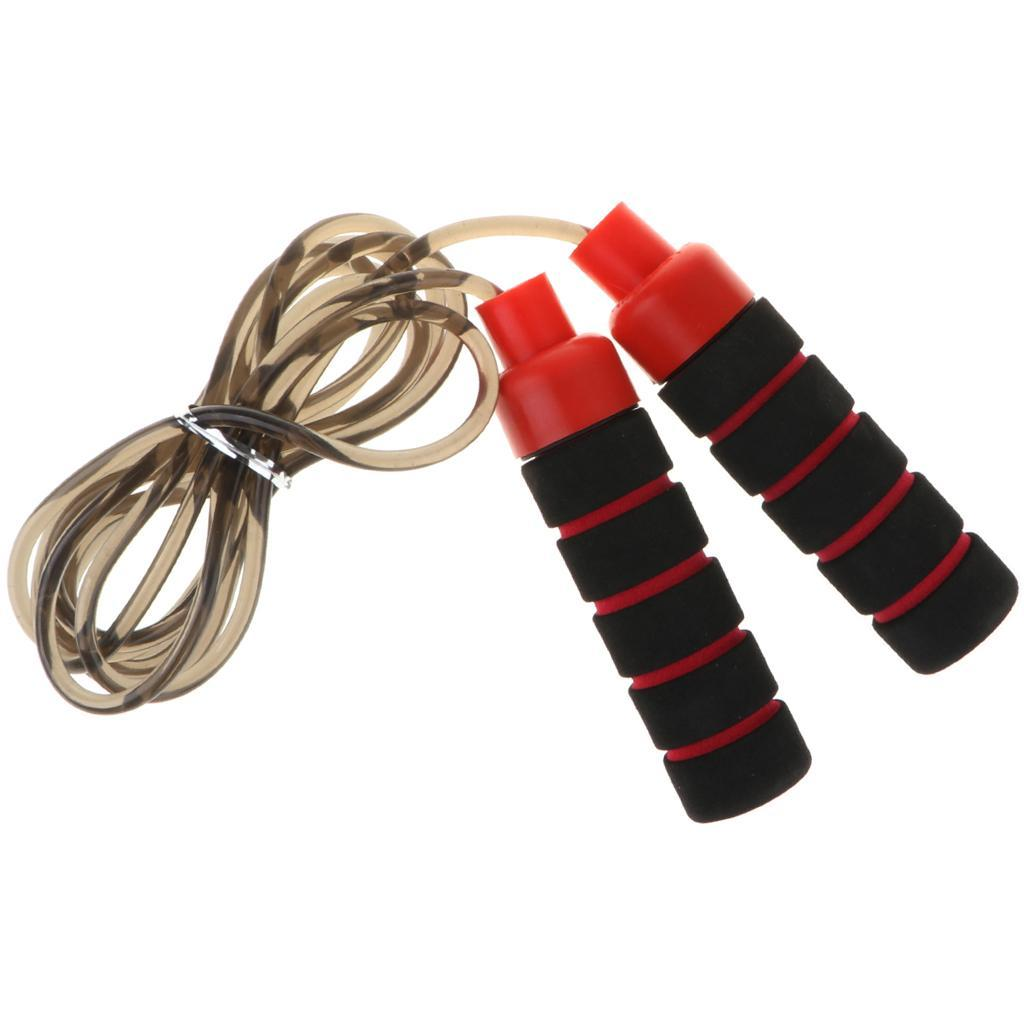 Aerobic-Exercise-PVC-Skipping-Jump-Rope-Boxing-Fitness-Sport-Gym-w-Foam-Handle thumbnail 11