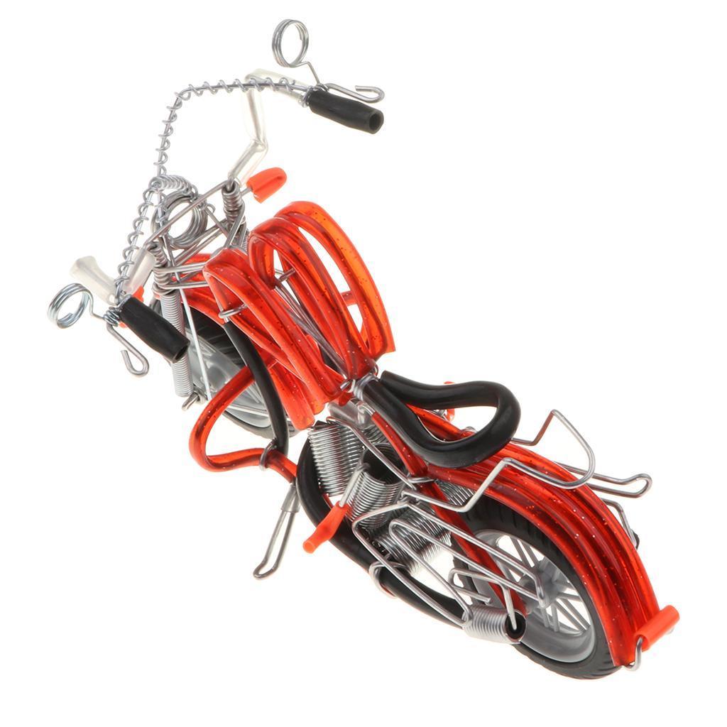 Mini-modello-di-moto-in-metallo-modello-di-moto-artigianato-perfetto-da miniatura 4