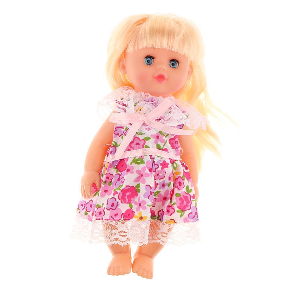 Talking Infant Doll Reborn Kit Toddler Kids Play House Toy