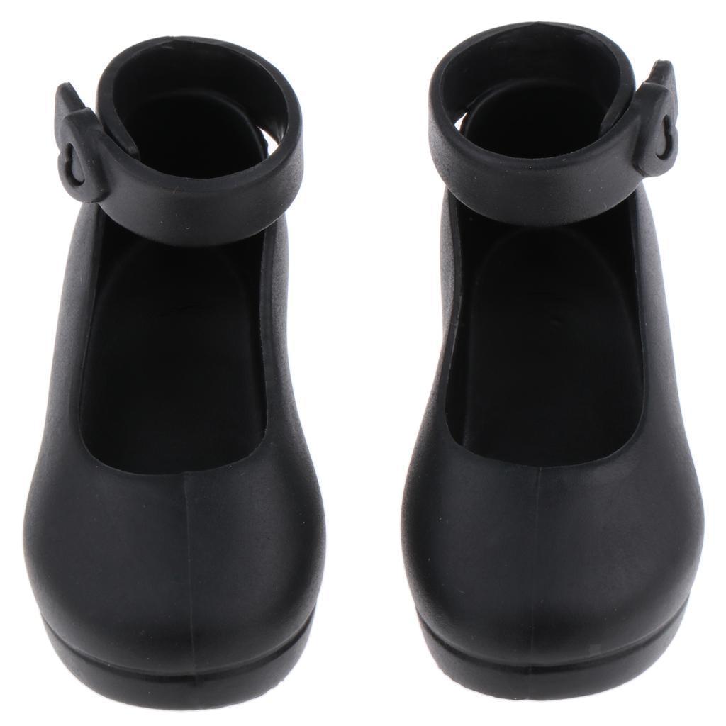 Handmade-Plastic-Doll-High-Heel-Jelly-Shoes-for-1-4-BJD-Dolls-DIY-Dress-up thumbnail 9