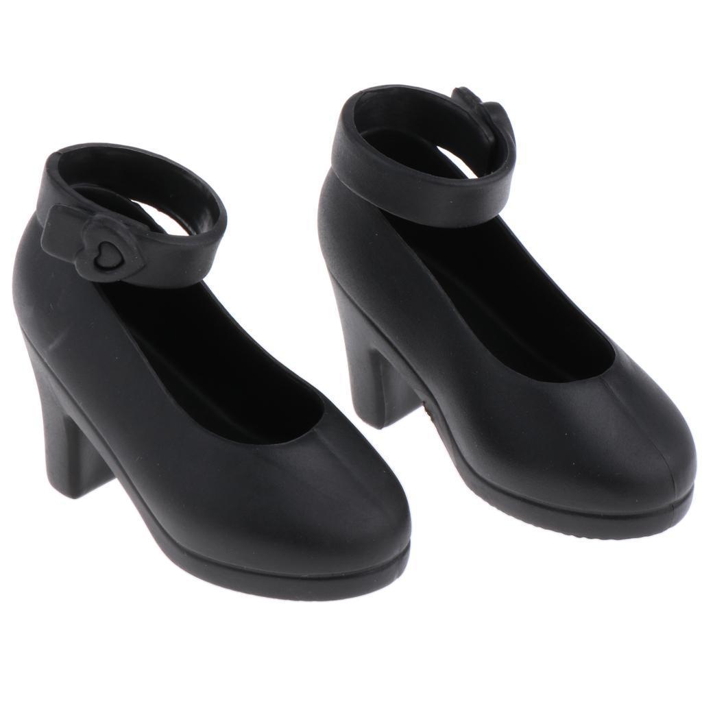 Handmade-Plastic-Doll-High-Heel-Jelly-Shoes-for-1-4-BJD-Dolls-DIY-Dress-up thumbnail 8