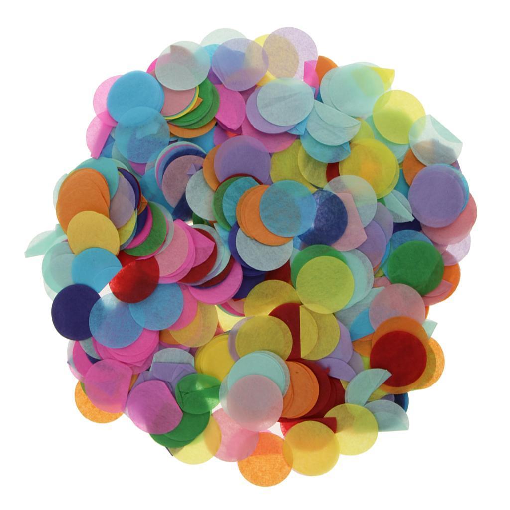 30g-Round-Tissue-Paper-Throwing-Confetti-Party-Balloon-Confetti-Wedding-Decor miniature 24