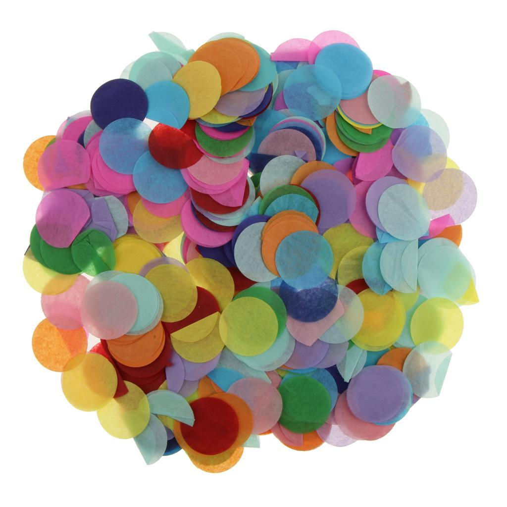 Bag-of-30g-Round-Tissue-Paper-Throwing-Confetti-Party-Wedding-Table-Decoration miniature 26