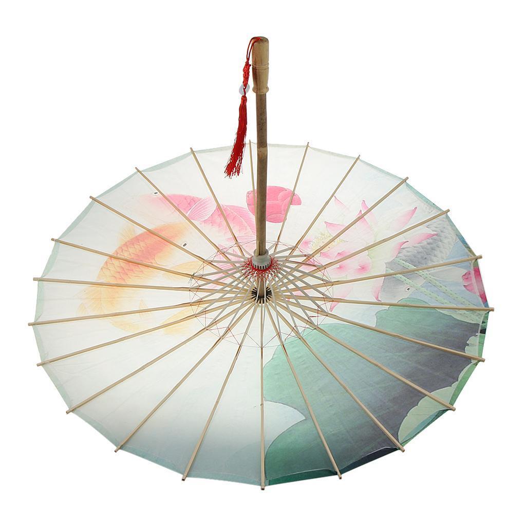 Parapluie-Chinois-Parasol-De-Mariage-Maison miniature 32