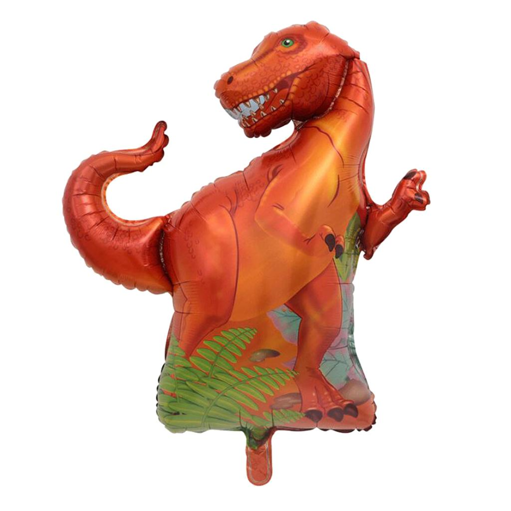DINOSAUR Birthday Balloons Decoration Supplies Prehistoric Tricerotops T-Rex