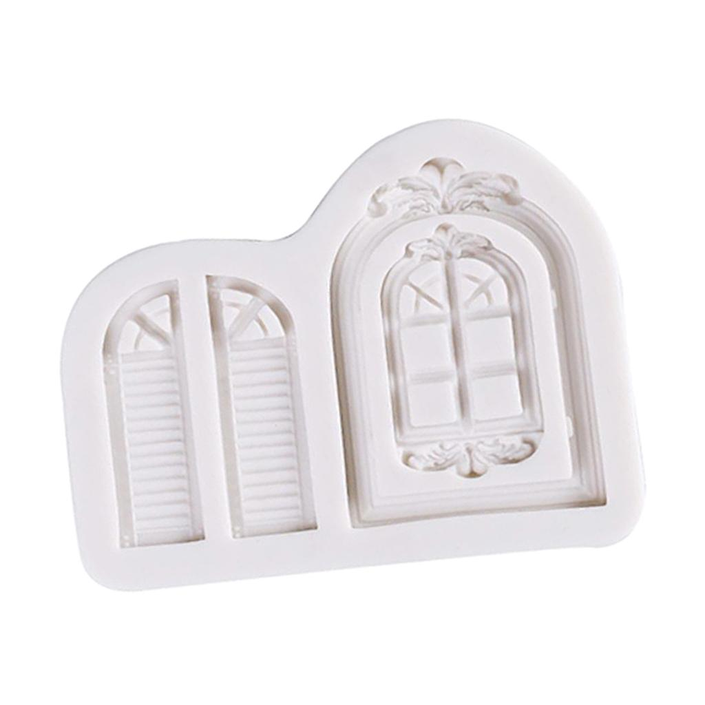 Multifunction Resin Clay Molding DIY Windows Shape Silicone Mold Jewelry Making Pendants Silicone