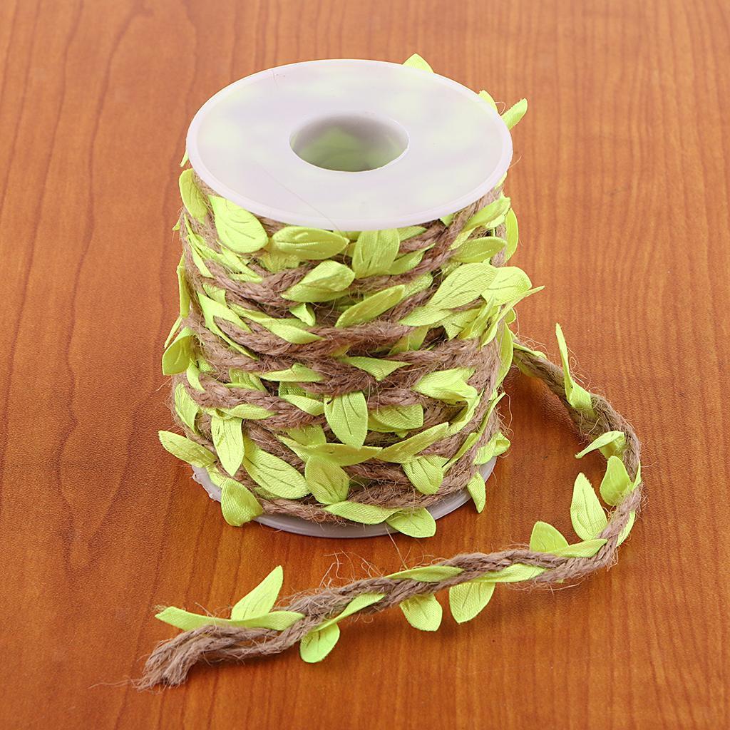 Artificial-Vine-Fake-Leaves-Silk-Rattan-Home-Ornament-Silk-Wreath-Foliage thumbnail 7