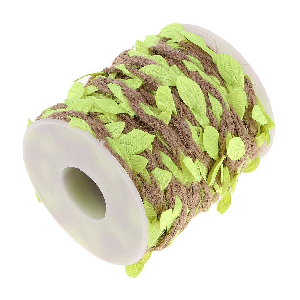 Artificial-Vine-Fake-Leaves-Silk-Rattan-Home-Ornament-Silk-Wreath-Foliage thumbnail 6