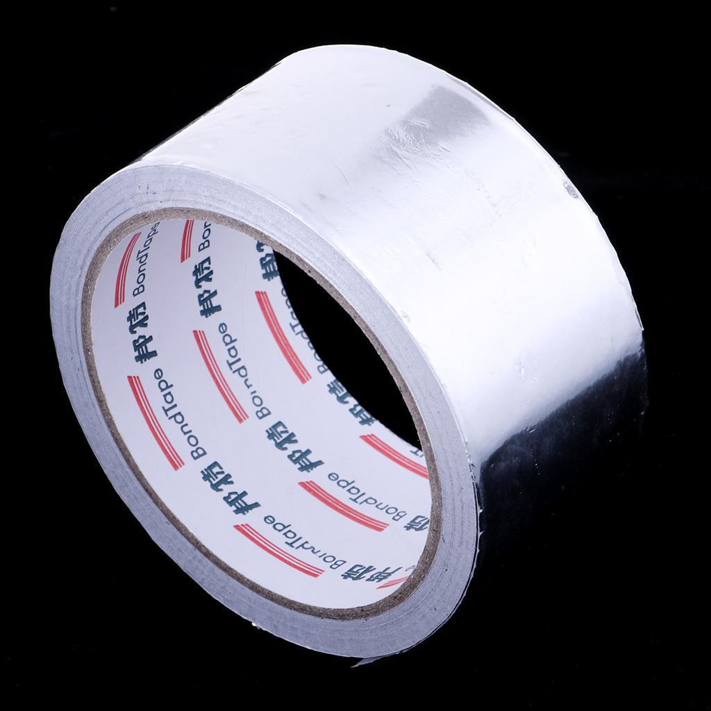 Hitzebeständige Wasserdichte Aluminiumfolie Klebeband Alufolie Aluband