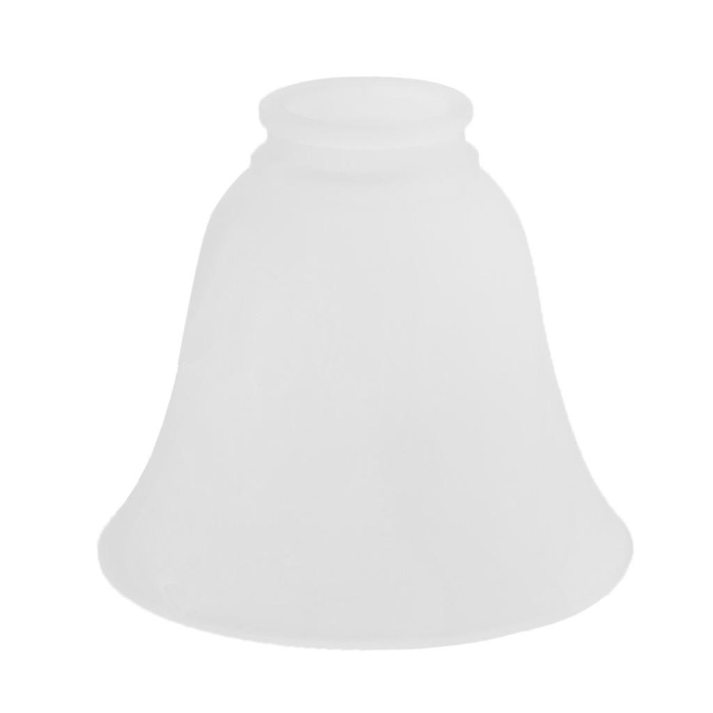 Tulip-Bell-Shape-Vintage-Frosted-amp-Clear-Glass-Lamp-Shade thumbnail 6