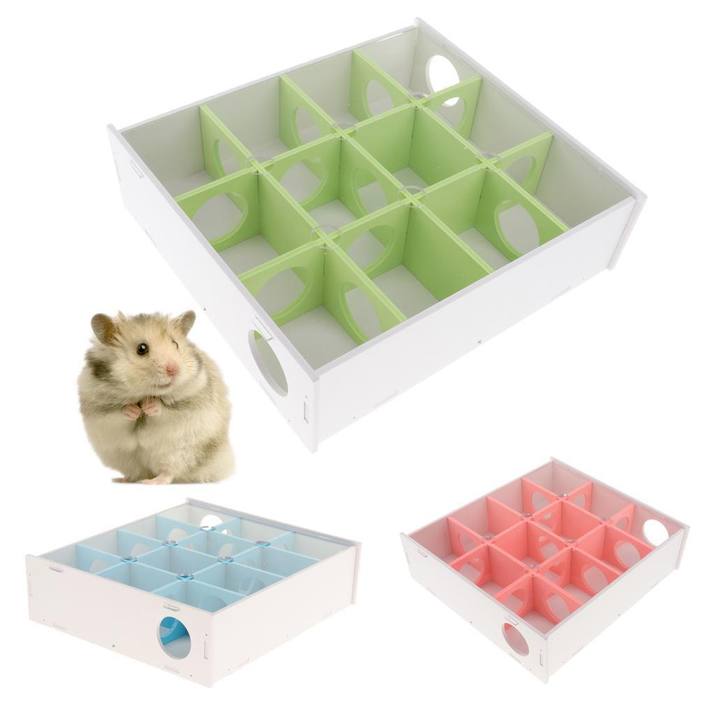 Pet-Hamster-Maze-Tunnel-Gerbil-Rat-Mouse-Mice-Small-Animal-Hide-and-Play-Toys thumbnail 6