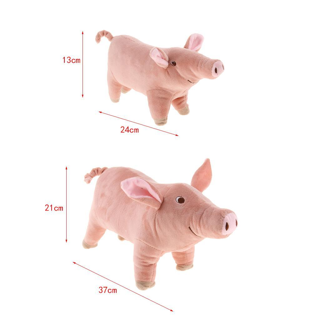 miniatura 5 - Giocattolo da masticare peluche maialino per cani piccoli e grandi
