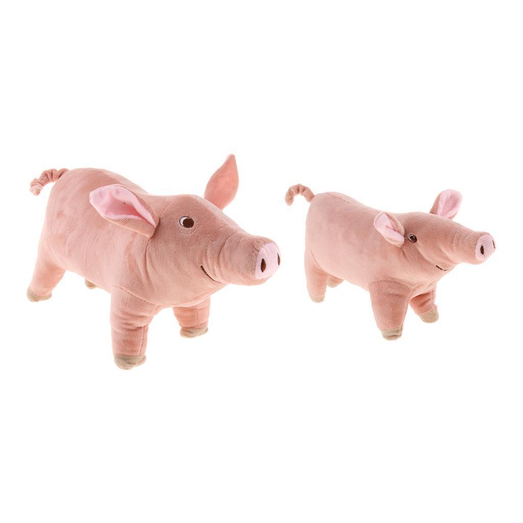 miniatura 3 - Giocattolo da masticare peluche maialino per cani piccoli e grandi