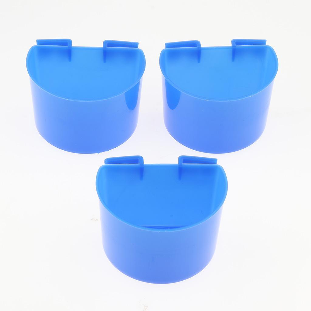 10-Pcs-Pigeons-Feeding-Cups-Bird-Food-Water-Container-Plastic-Bowl-for-Cage thumbnail 6
