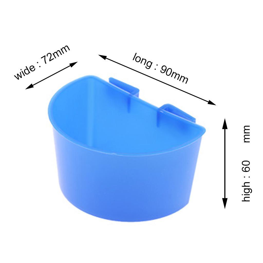 10-Pcs-Pigeons-Feeding-Cups-Bird-Food-Water-Container-Plastic-Bowl-for-Cage thumbnail 7