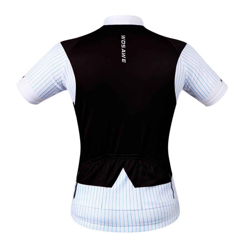 Hommes-Maillot-Cyclisme-Respirantes-Sechage-Rapide-Jersey-Manche-Court-Velo miniature 4
