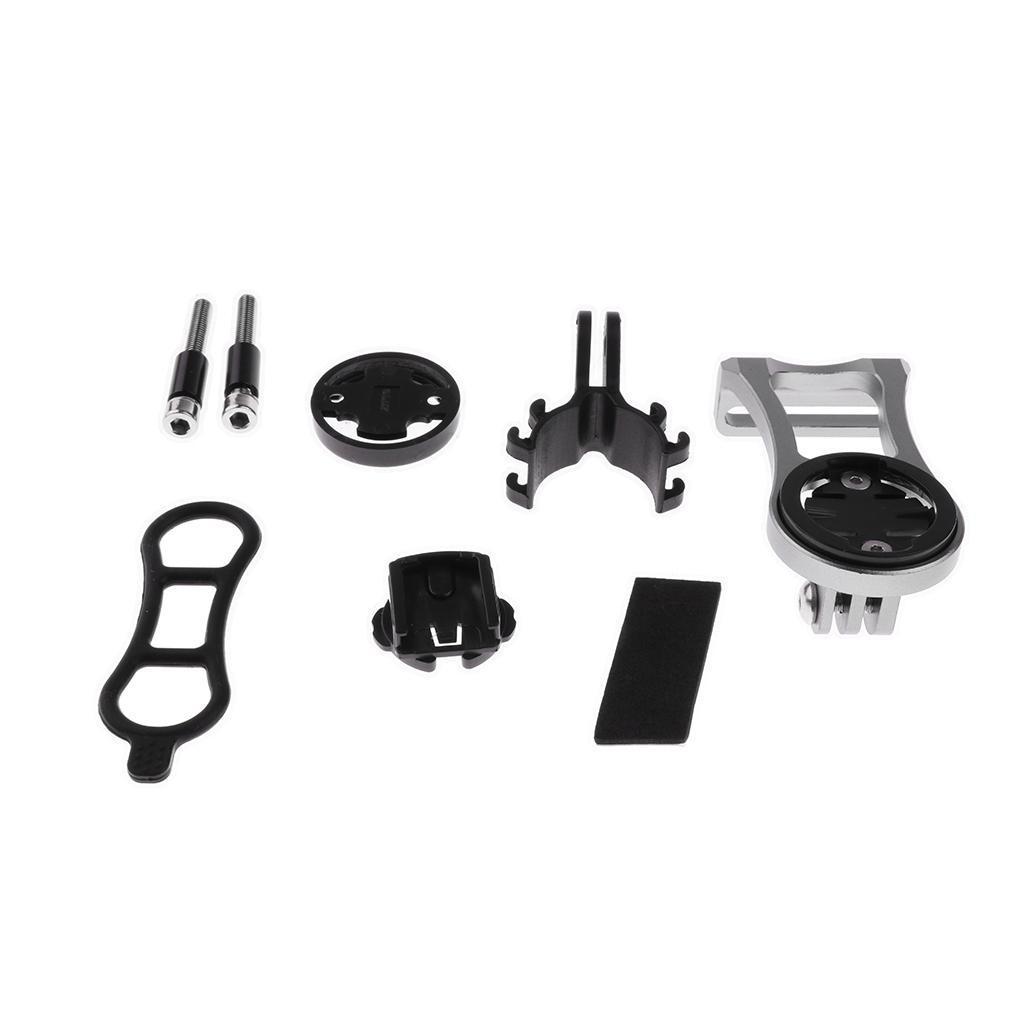 Set-Supporto-Cellulare-Montaggio-A-Bici-Porta-Telefono-Garmin-Edge-Bicicletta miniatura 13