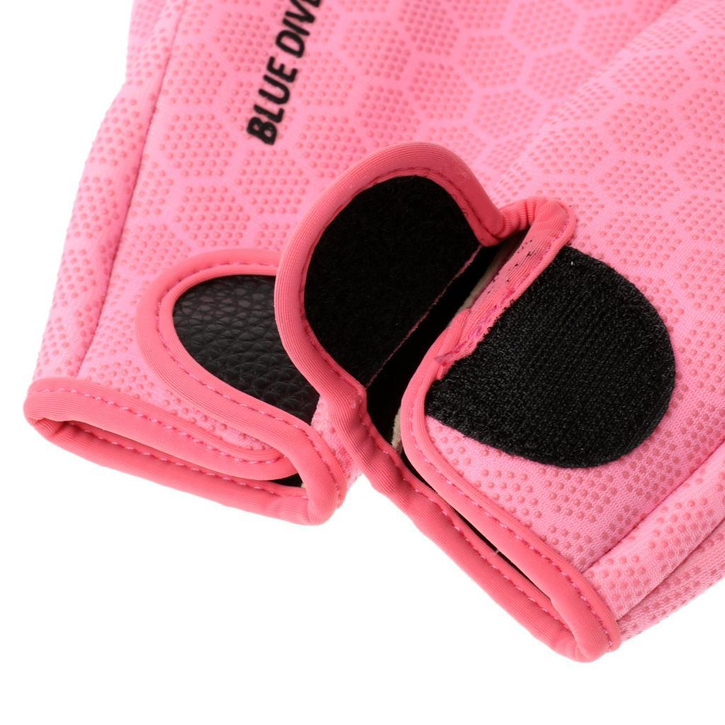 1-paio-1-5-millimetri-Neoprene-antigraffio-antiscivolo-Five-Finger-Glove-per miniatura 7