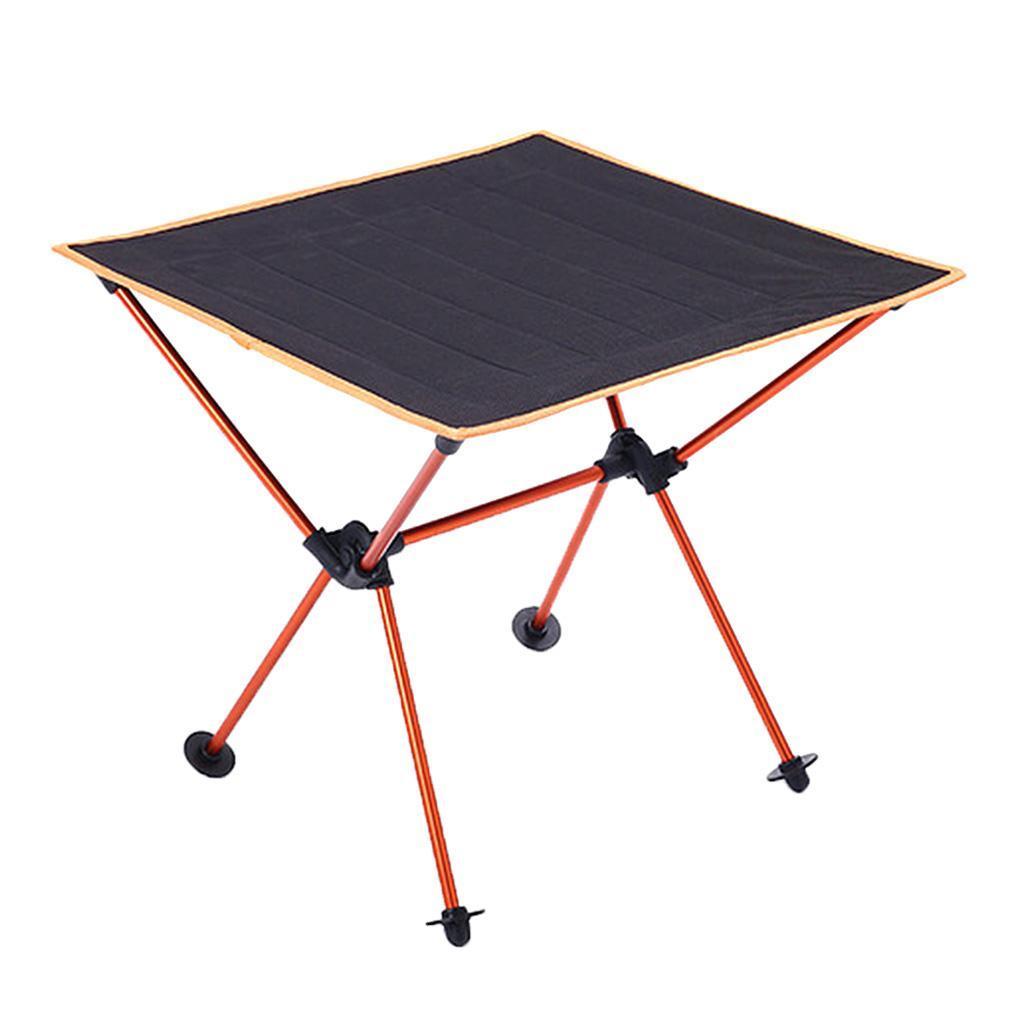 Tavolino-Pieghevole-In-Lega-Di-Alluminio-Accessori-di-Giardino-e-Picnic miniatura 9