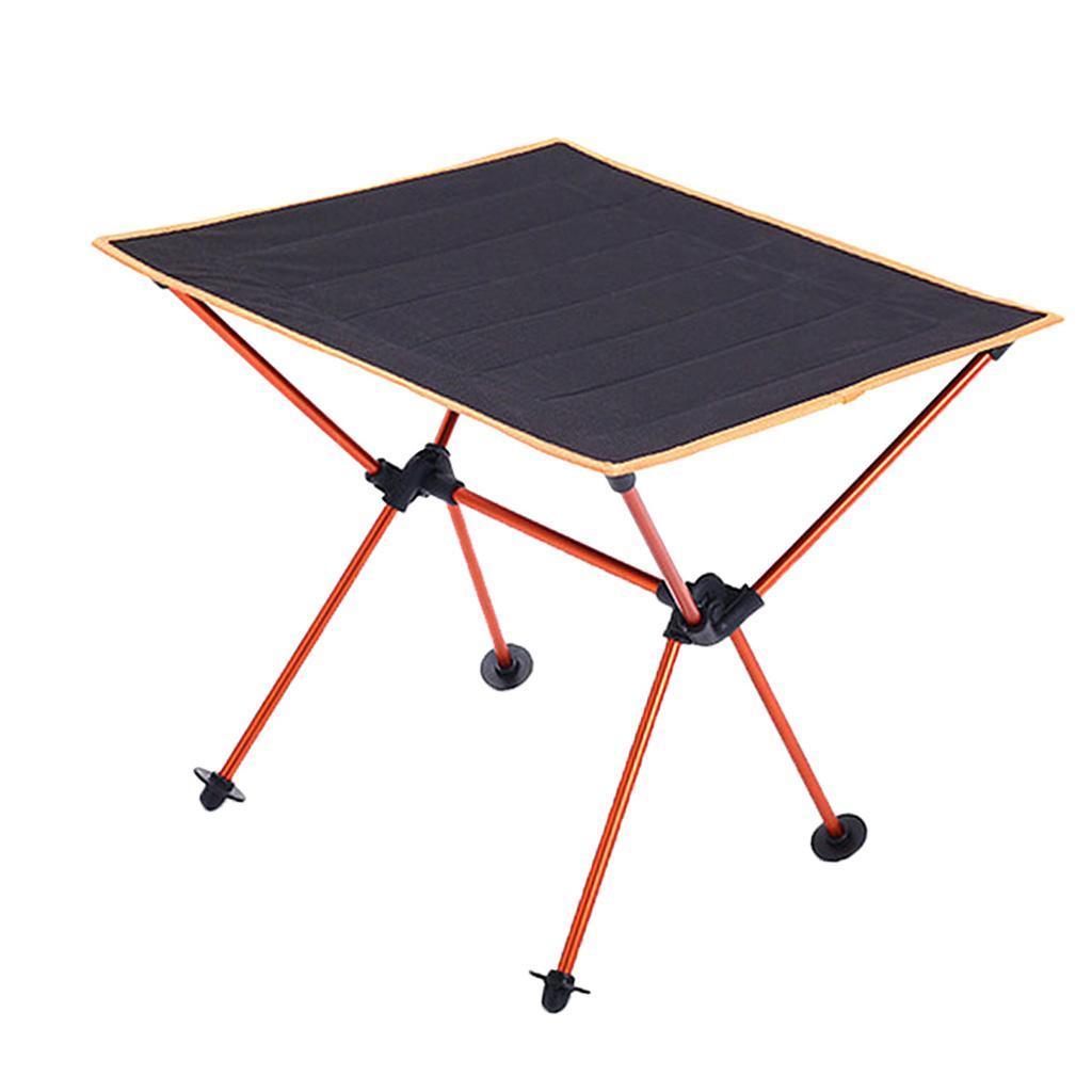 Tavolino-Pieghevole-In-Lega-Di-Alluminio-Accessori-di-Giardino-e-Picnic miniatura 10