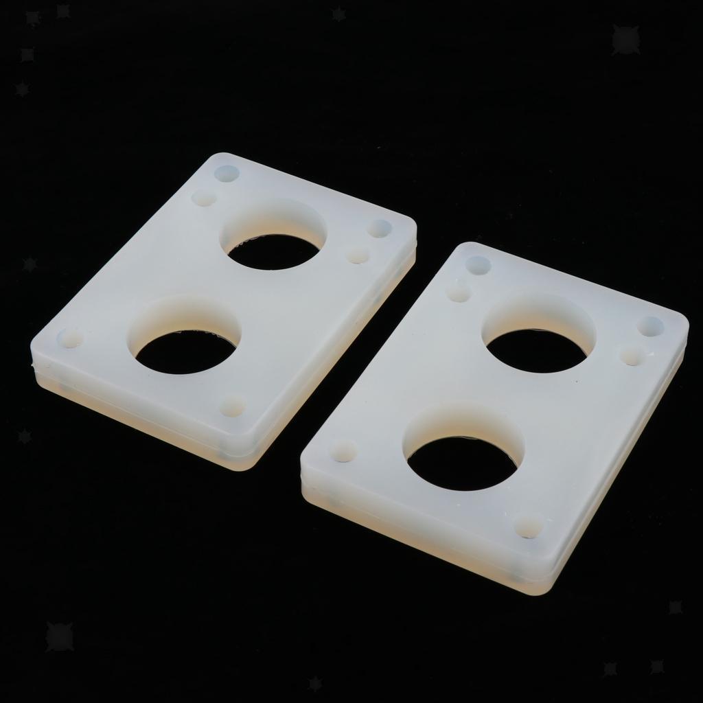 Ammortizzatori-di-riser-longboard-in-gomma-da-skateboard-2-pezzi miniatura 14