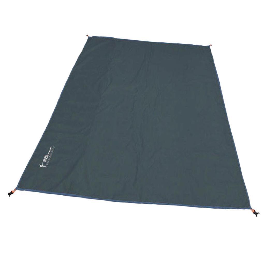 Tenda-impermeabile-Tarp-Footprint-Camping-Ground-Sheet-per-escursionismo miniatura 15