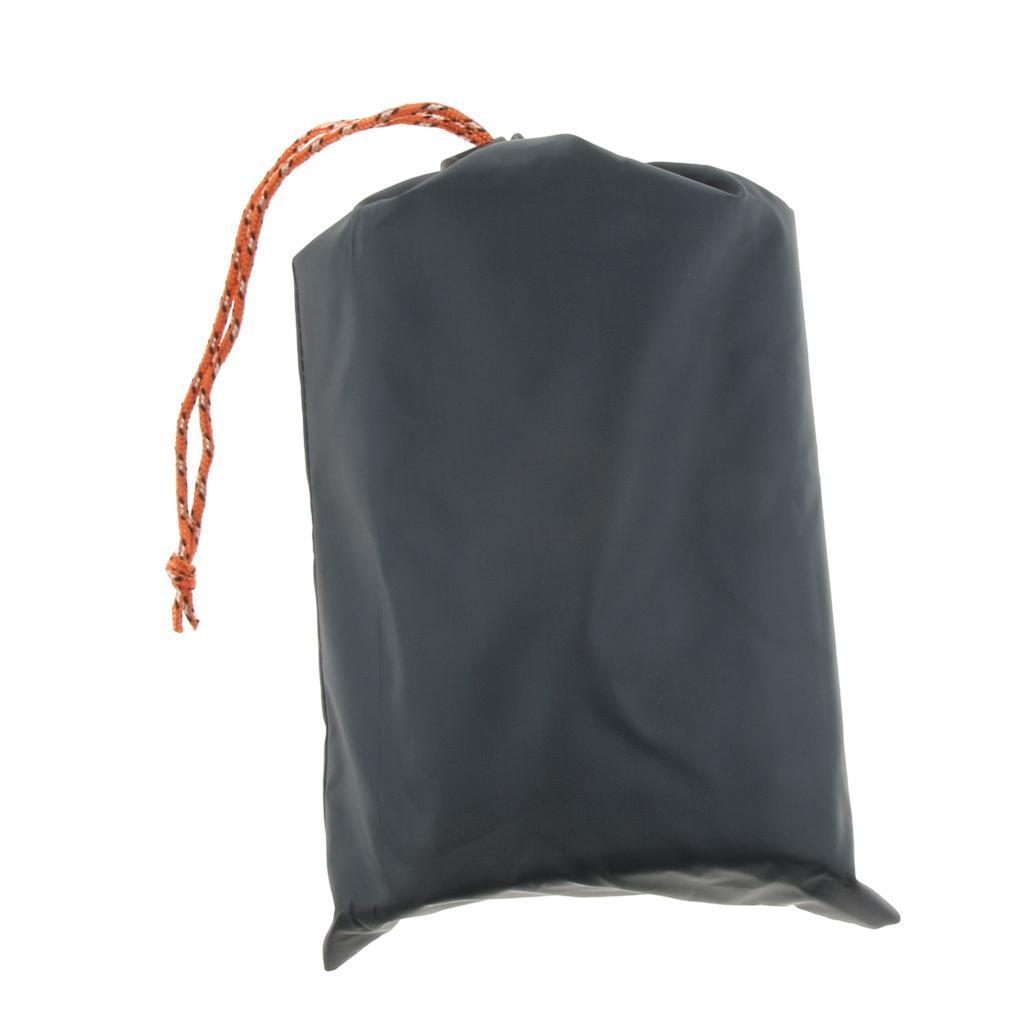 Tenda-impermeabile-Tarp-Footprint-Camping-Ground-Sheet-per-escursionismo miniatura 16