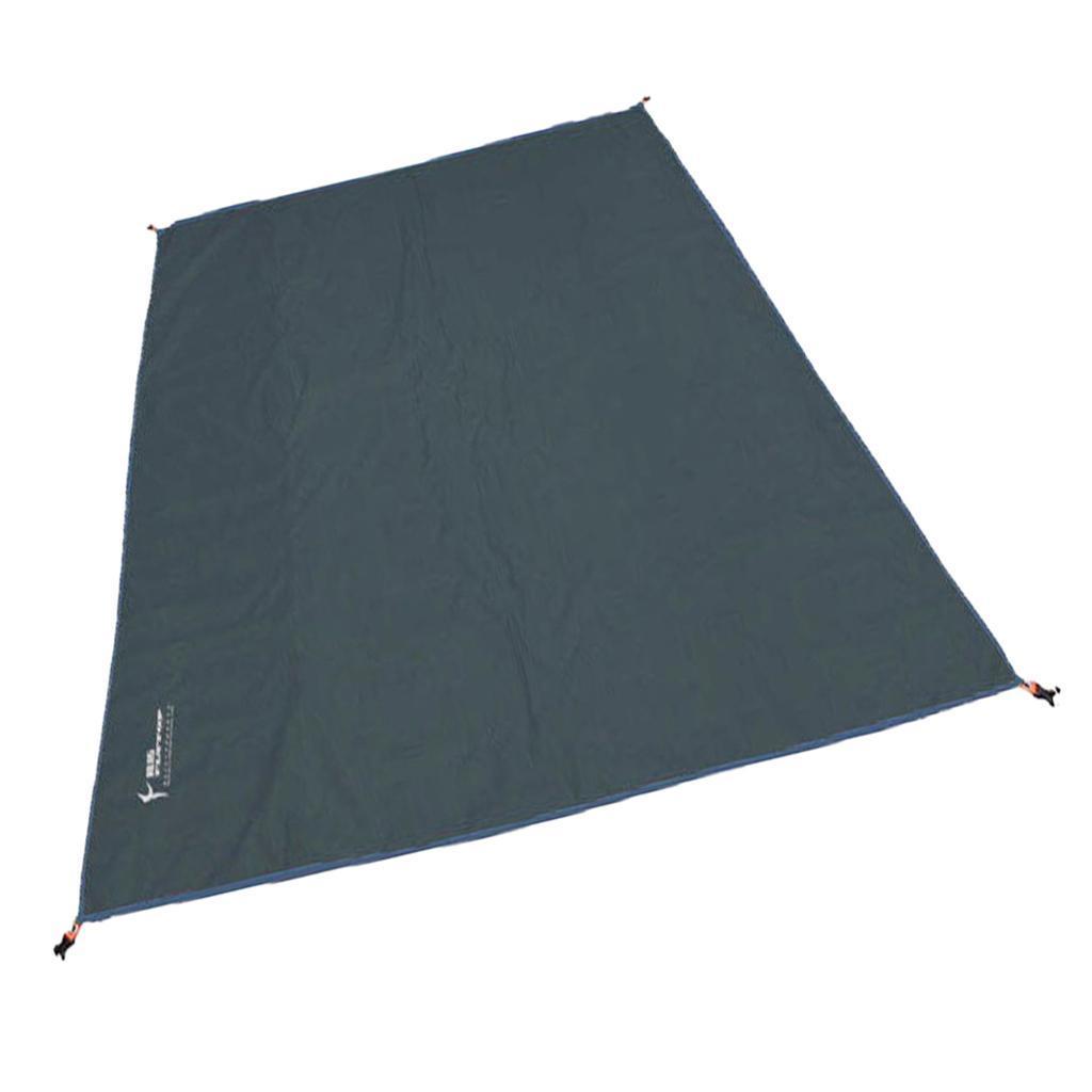 Tenda-impermeabile-Tarp-Footprint-Camping-Ground-Sheet-per-escursionismo miniatura 17