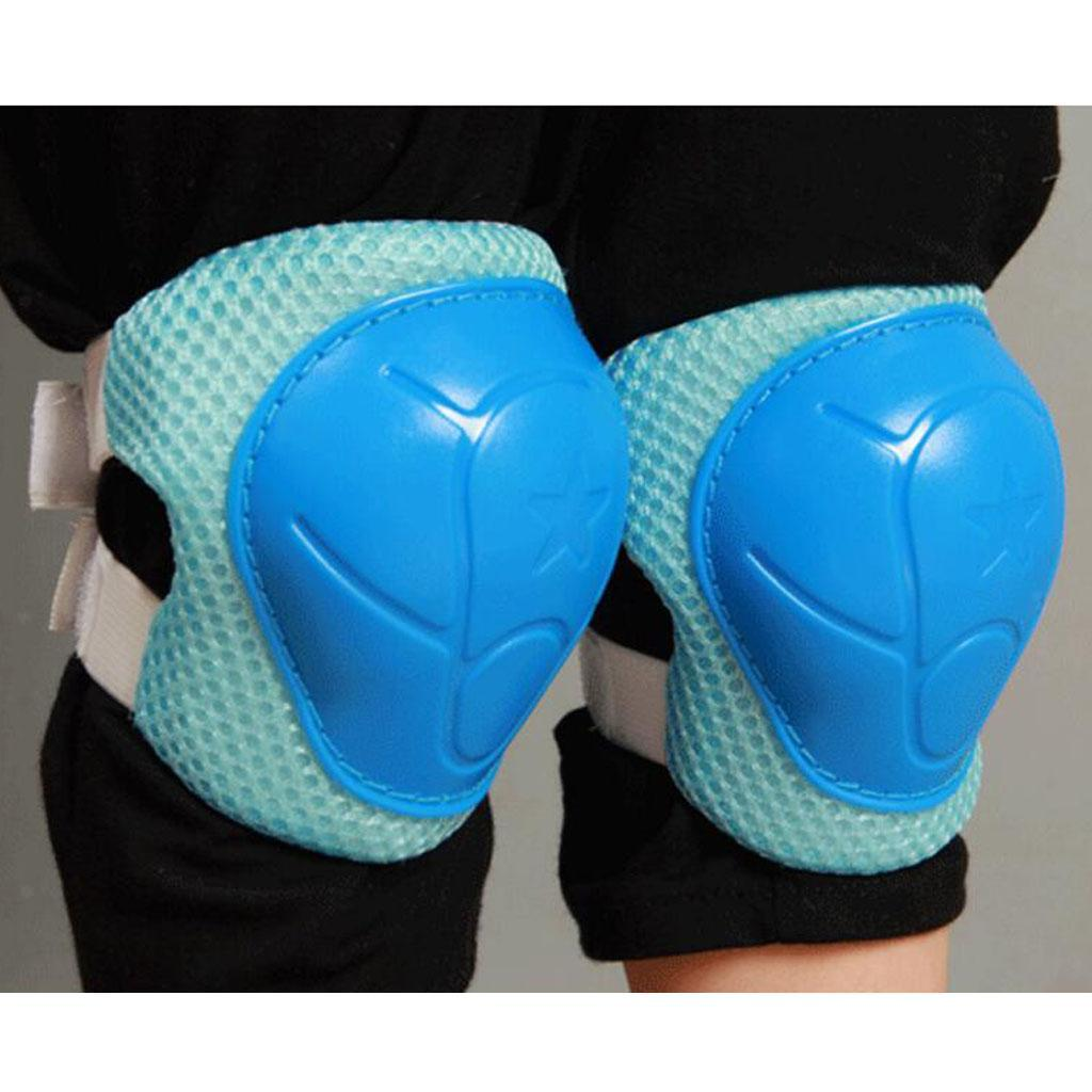 6 Pieces Kids Adult Skateboard Skate Cycling Scooter Elbow//Knee//Wrist Pads S