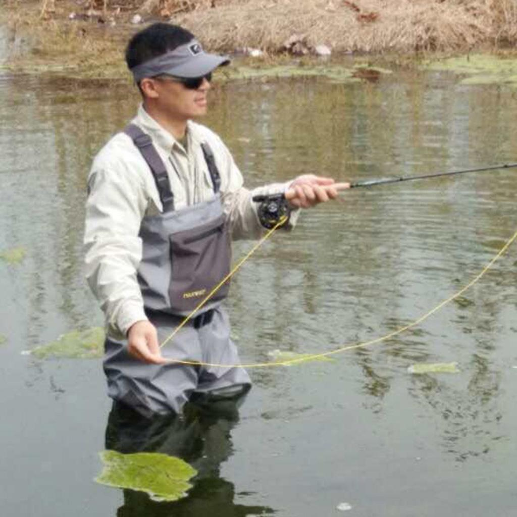 Light-Weight-Fishing-Waders-Waterproof-Chest-Wader-for-Fishing-Rafting-Farm thumbnail 5