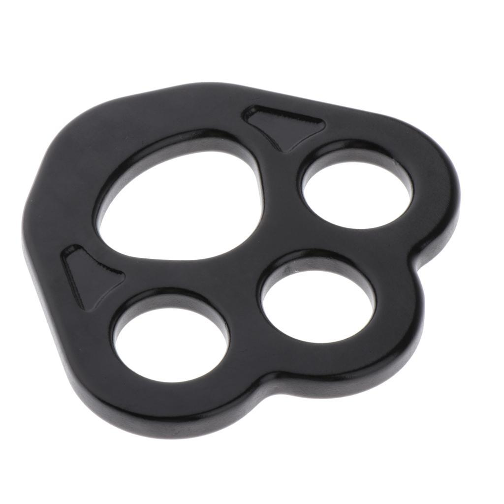 4-holes Paw Rigging Plate for Aerial Dance Rock Climbing Arborist daf3dadfa2ssss