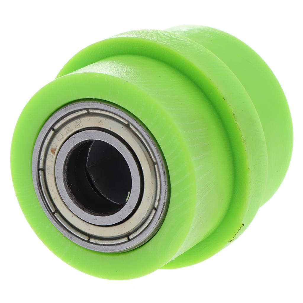 Motorcycle-Chain-Tensioner-Pulley-Wheel-Moto-Chain-Roller-Slider-10mm miniature 10