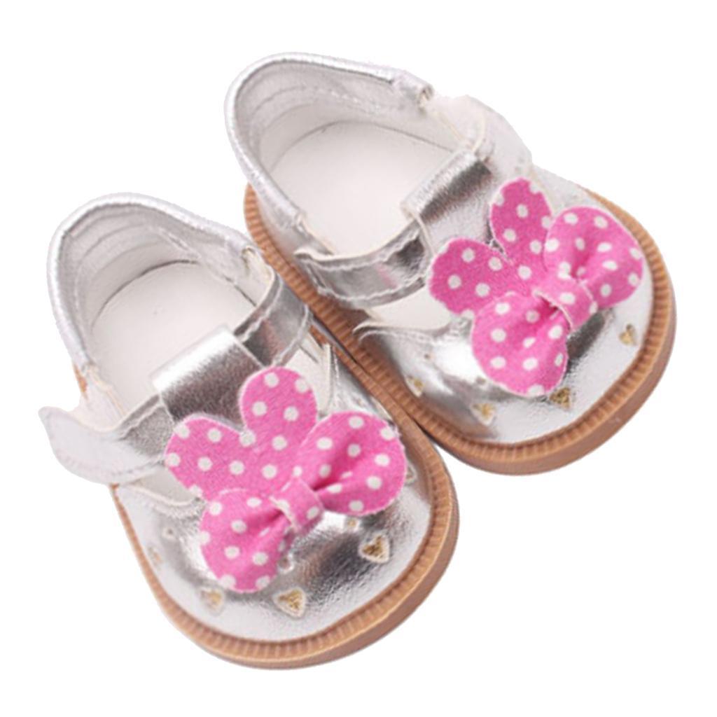 Vetement-de-Poupee-Chaussures-Animes-en-Cuir-PU-Decoration-pour-Poupees miniature 11