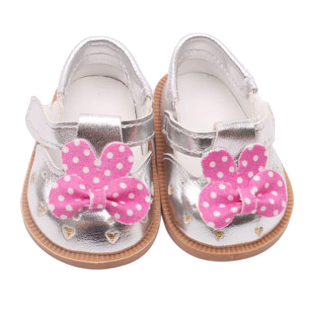 Vetement-de-Poupee-Chaussures-Animes-en-Cuir-PU-Decoration-pour-Poupees miniature 12