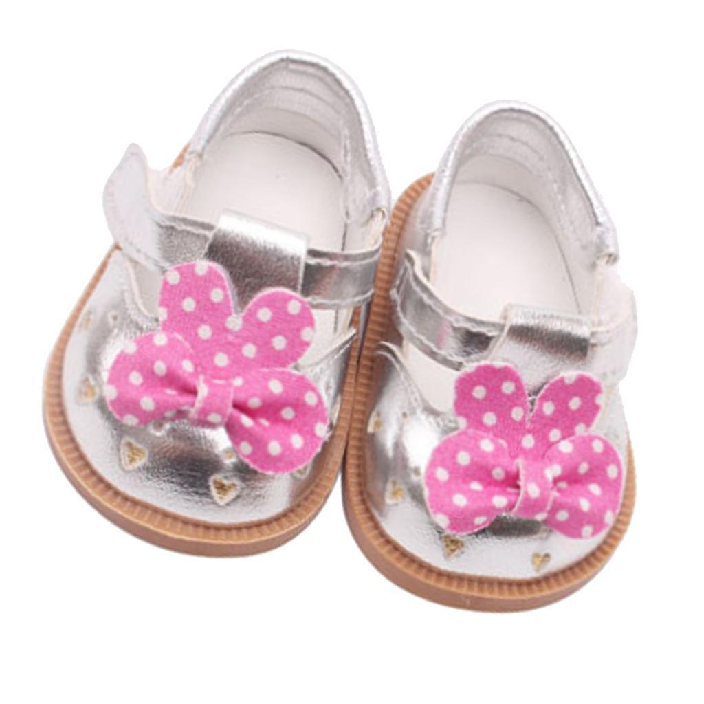 Vetement-de-Poupee-Chaussures-Animes-en-Cuir-PU-Decoration-pour-Poupees miniature 13