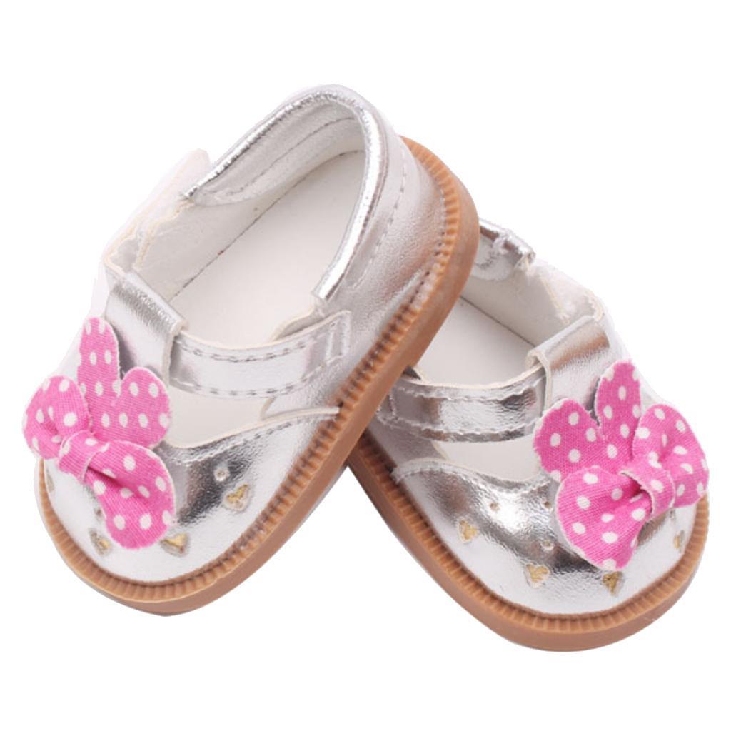 Vetement-de-Poupee-Chaussures-Animes-en-Cuir-PU-Decoration-pour-Poupees miniature 14