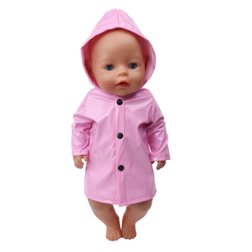 Puppe Kleidung Regenmantel Übergangsjacke Outfit Kostüm ...