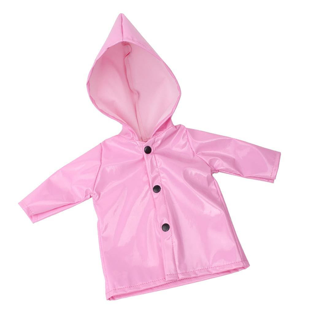 Candy-Color-Raincoat-Clothes-for-18-039-039-AG-American-Doll-Doll-Outfit-Accessory miniature 4