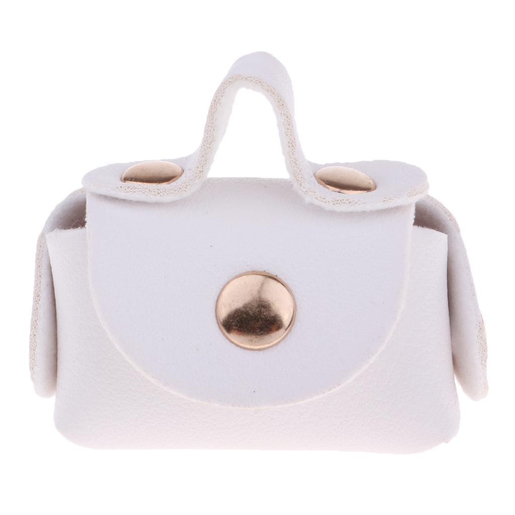 12inch-Doll-PU-Leather-Handbag-Bag-Purse-For-BJD-Doll-Clothes-Accessories thumbnail 3