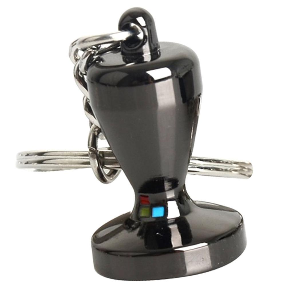 Coffee-Milk-Pitcher-Drip-Pot-Protafilter-Tamper-Keyring-Coffee-Keychain thumbnail 6