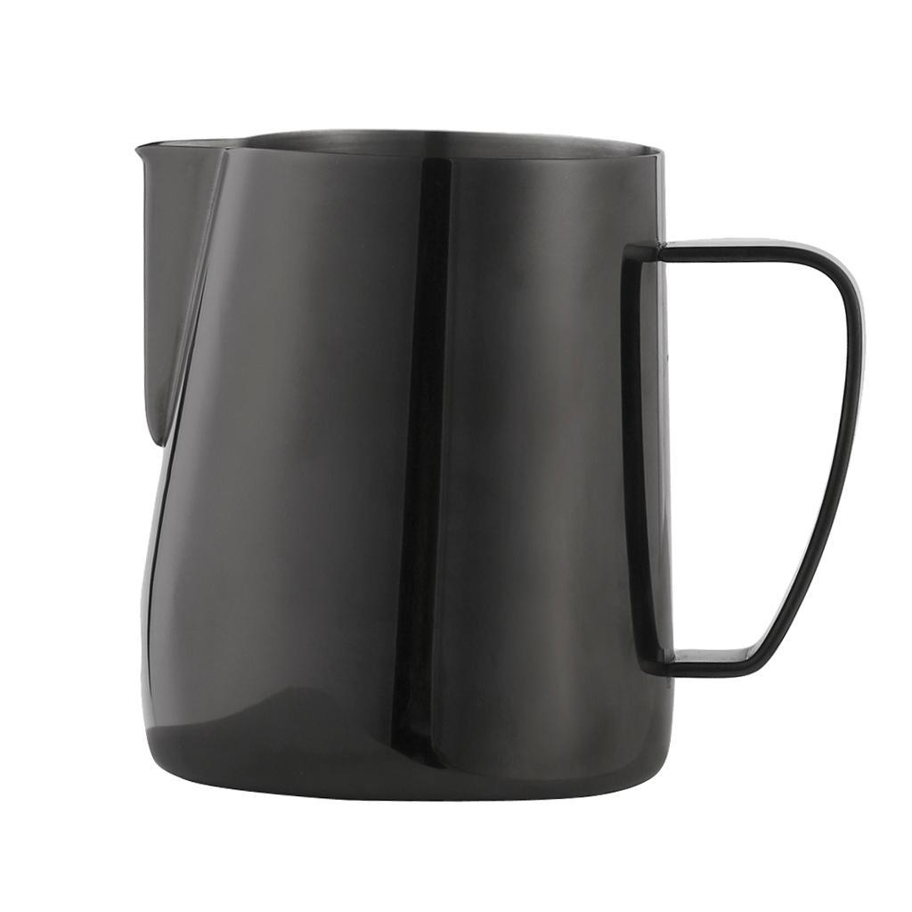 Milk-Pitcher-Stainless-Steel-Cup-Frothing-Pitcher-Jug-Coffee-Latte-600ml thumbnail 8