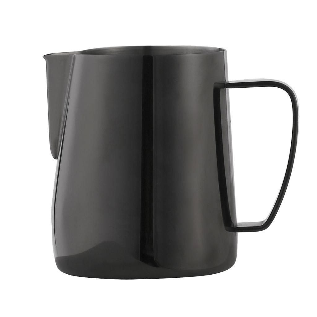 Milk-Pitcher-Stainless-Steel-Cup-Frothing-Pitcher-Jug-Coffee-Latte-600ml thumbnail 9