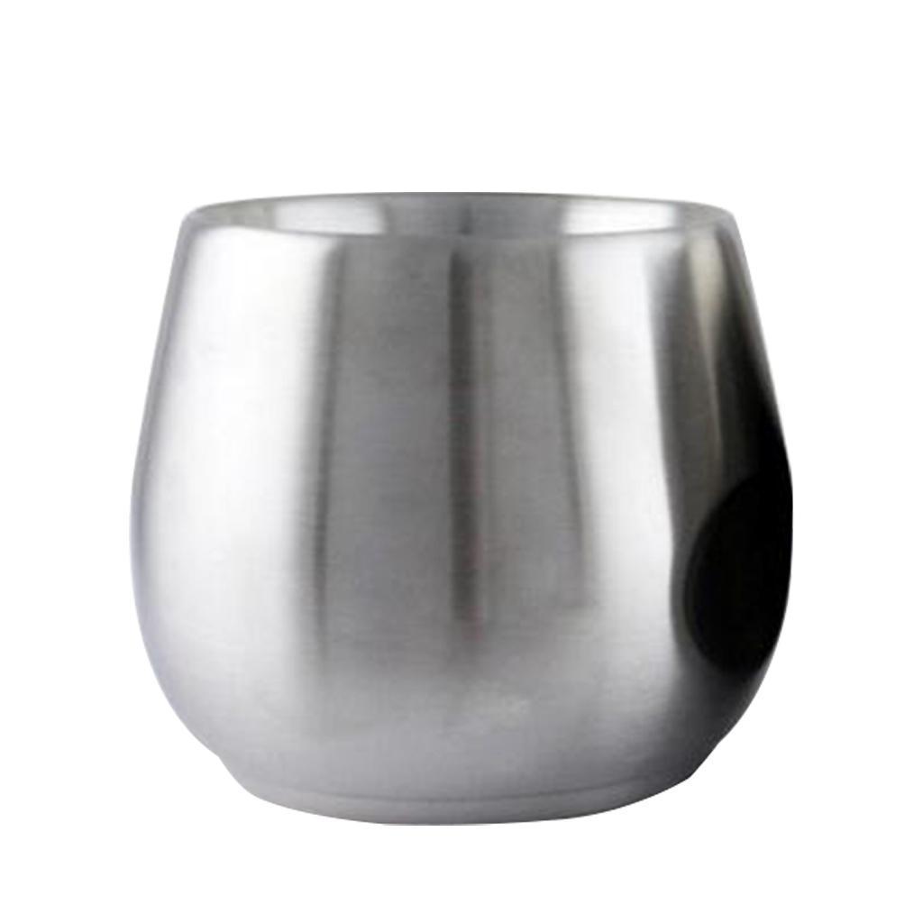 miniatura 8 - Bicchiere da viaggio in acciaio inox calici senza vuoto