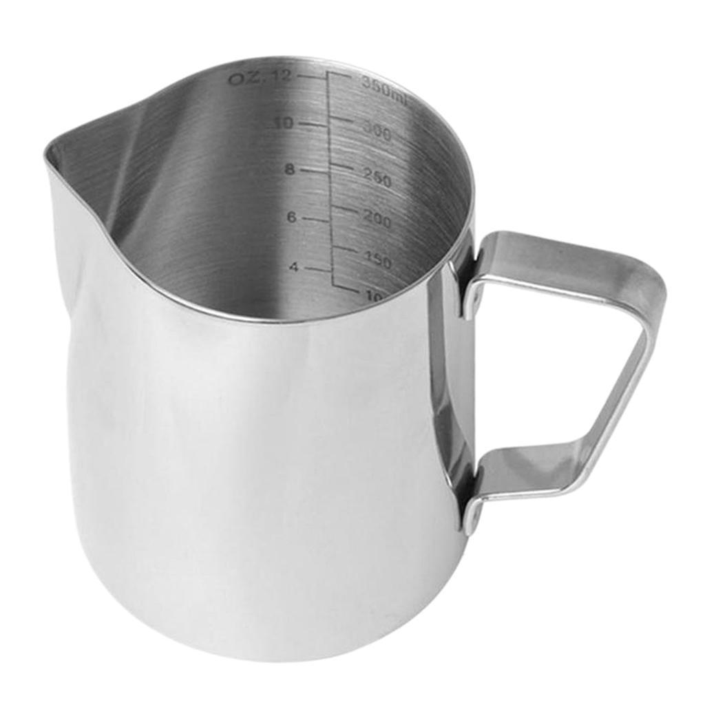 Milk-Frothing-Pitcher-Stainless-Steel-Creamer-Frothing-Pitcher-350-600ml thumbnail 7